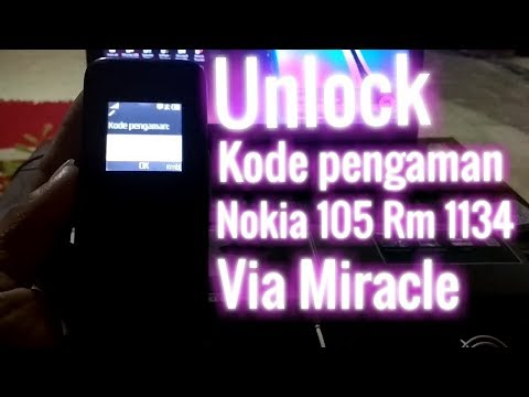 Solusi Nokia 105 Rm 1134 Terkunci Kode Pengaman