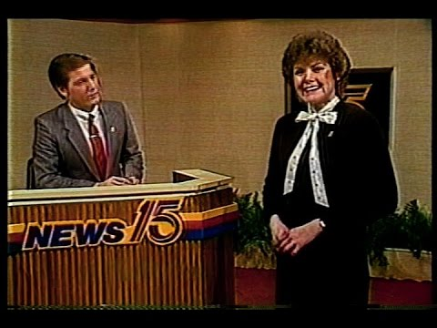 March 15, 1985 - 11PM Fort Wayne, Indiana Newscast (Telescoped)