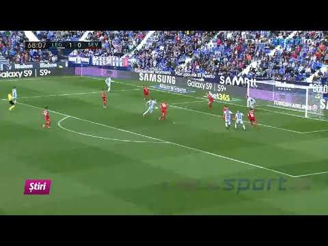 Leganes vs Sevilla 2-1. Eroii de pe Old Trafford, învinşi în La Liga