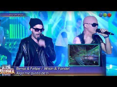 Felipe Colombo y Benjamín Rojas son Wisin & Yandel - Tu Cara Me Suena 2015