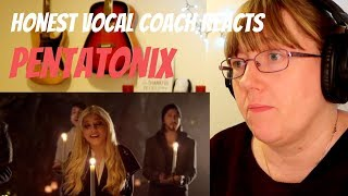 Vocal Coach Reacts to Pentatonix - Mary, Did You Know?