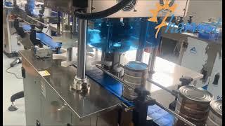 FLV30 금속 깡통 봉합 기계, 자동 깡통 씰링 기계…