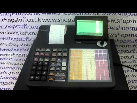 CASIO SEC450 CASH REGISTER - HOW TO PRODUCE A X1 REPORT