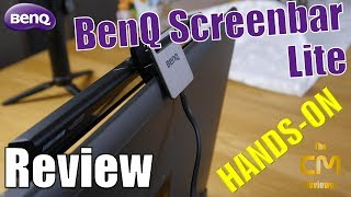 BenQ Screenbar lite  e-Reading Lamp AR18_C - Screenbar für Notebook...