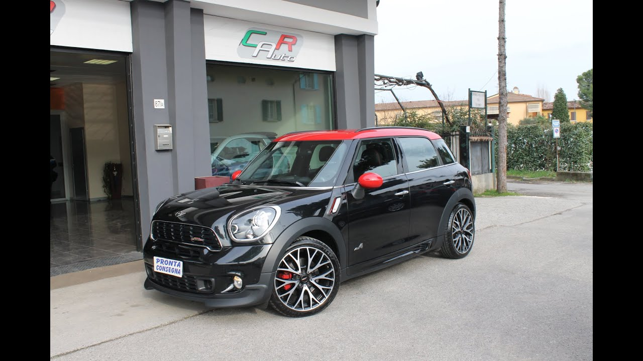 mini john cooper works countryman all4 automatica youtube. Black Bedroom Furniture Sets. Home Design Ideas