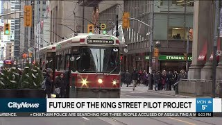 Putting the King St. pilot project to the test