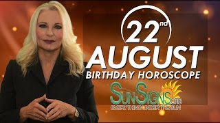 Birthday August 22nd Horoscope Personality Zodiac Sign Leo Astrology