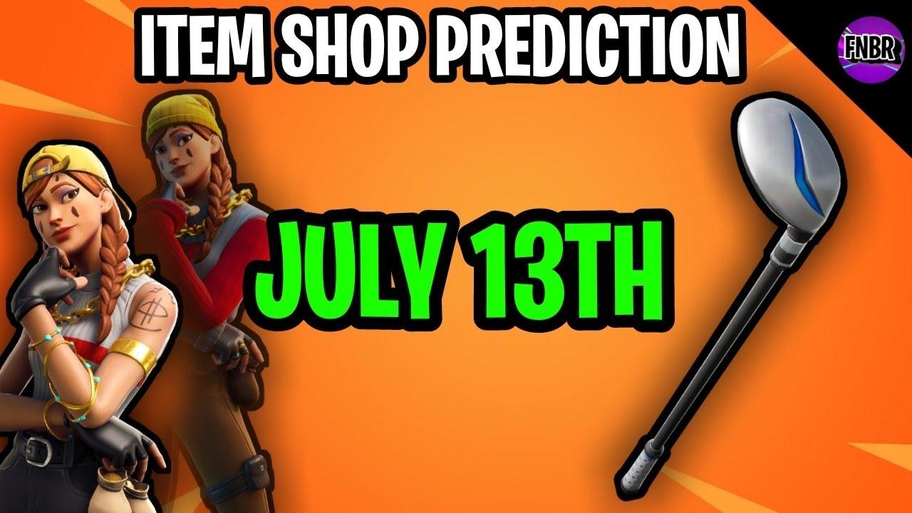 Fortnite Item Shop Prediction - July 13th 2020