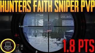 Classified Hunters Faith Sniping in Dark Zone (The Division 1.8 PTS)