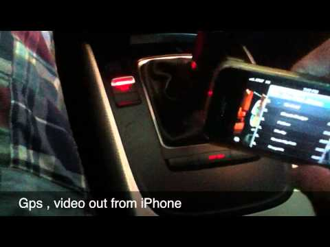 Audi A4 B8 Gps Touchscreen , Video Interface