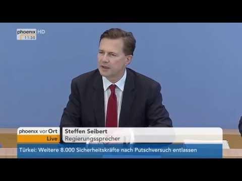 Statement zur Armenien-Resolution: Steffen Seibert am 02.09.2016