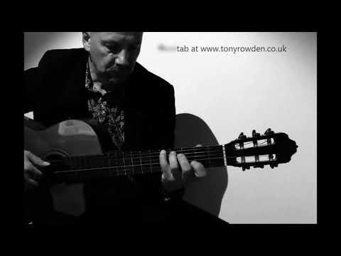 Love Hurts - FREE TAB Fingerstyle Solo Www.tonyrowden.co.uk