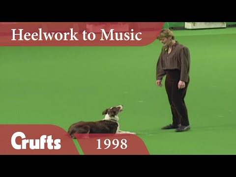 Heelwork To Music - Mary Ray's 1998 Performance | Crufts Classics