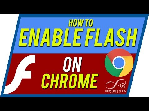 How To ENABLE Adobe FLASH Player On Chrome