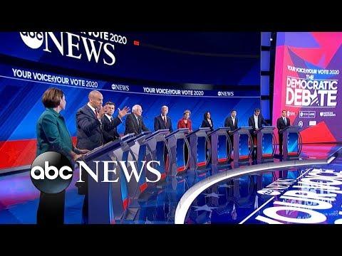 Democratic candidates debate: Gun reform l ABC News