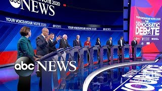 Democratic candidates debate: Gun reform l ABC News