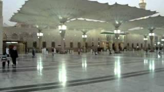 Masjid e Nabvi (Madina) Azan-e-maghrib