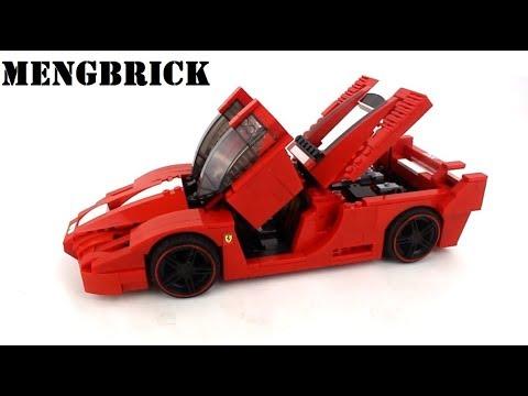 Lepin 21009 Ferrari FXX 1:17 - MengBrick Build