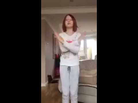 Alice - daughter of EOS CEO Magali gives a tutorial to TikTok dance Say So by Doja Cat