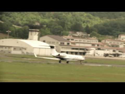 N524NG(From Okayama airport to San Diego California, USA)
