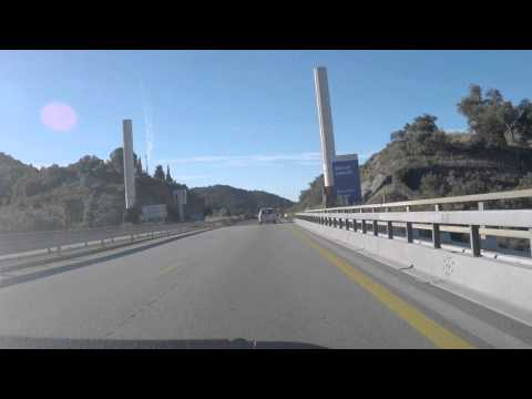 France to Spain by Autoroute - A9/E15 - Le Boulou to La Jonq
