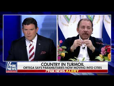 Bret Baier Confronts Nicaraguan Pres. on Alleged Murders of Citizens