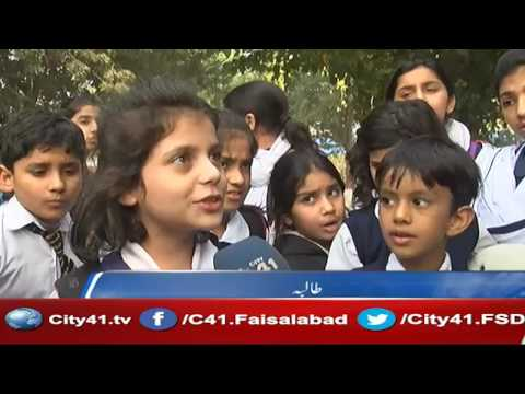 DPS junior section Faisalabad organized pet show