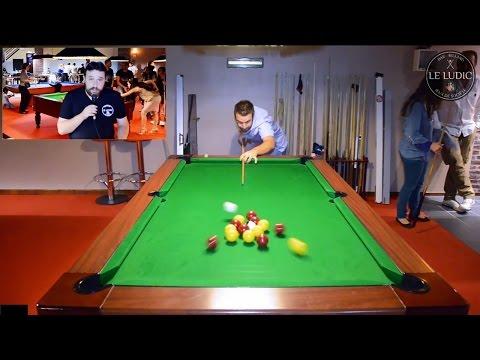 """Salle de Billard """"Le Ludic"""" à Albi France - Bar à jeux de société - Blackball Snooker Pool Hall"""