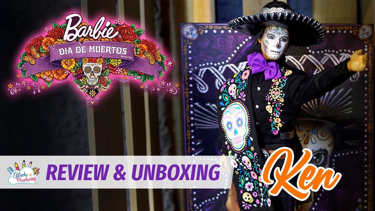 KEN - BARBIE Y KEN DÍA DE MUERTOS 2021 - UNBOXING & REVIEW ● Estuche de Chucherías Toy & Doll Studio