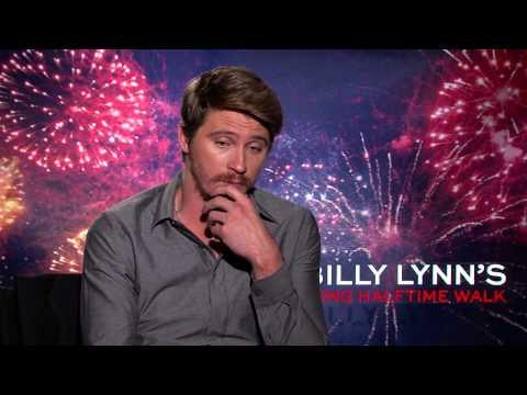 BILLY LYNN'S LONG HALFTIME WALK: Backstage with Garrett Hedlund