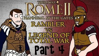 Total War: Rome 2 - Hannibal at the Gates - Carthage v Rome w/Legend of Total War Part 4!