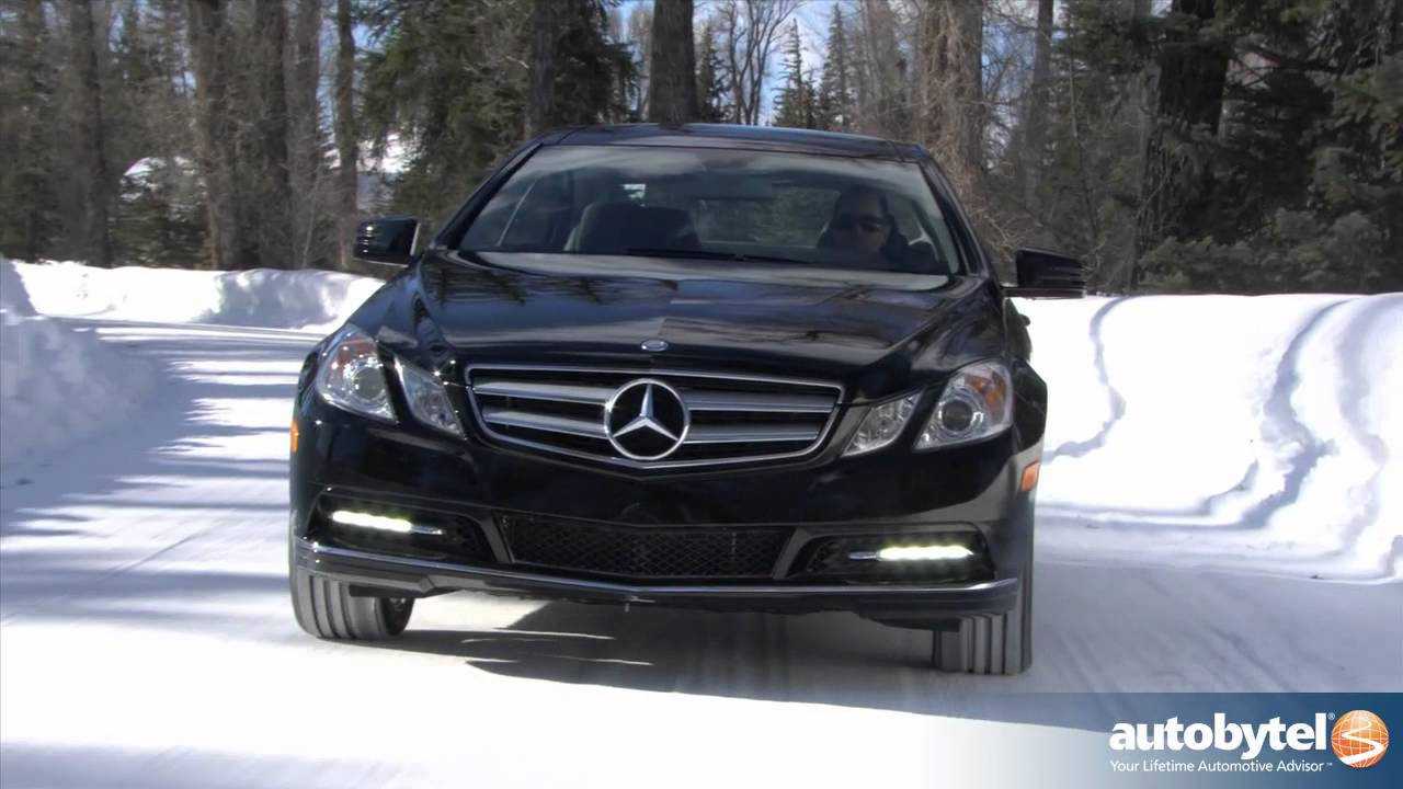 2012 mercedes benz e350 test drive luxury car video for 2012 mercedes benz e550 coupe review