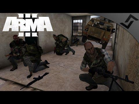 PMC Convoy Goes Horribly Wrong - ArmA 3 - Squadleader PTSD Simulator