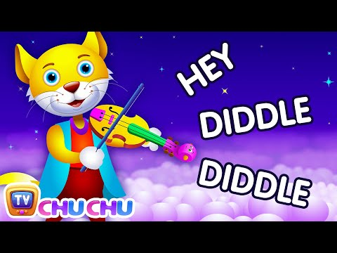 Hey Diddle Diddle Nursery Rhyme - ChaCha's Funny Dream
