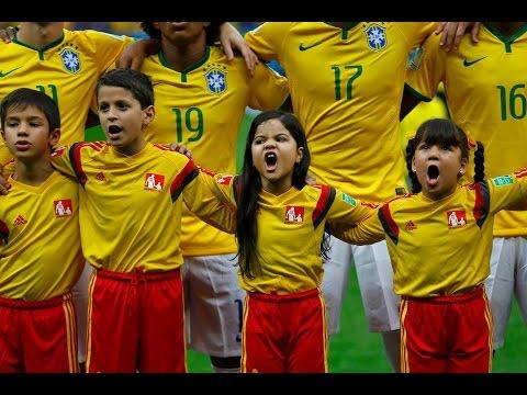 (TF1)Dernier hymne brésilien durant le Mondial 2014