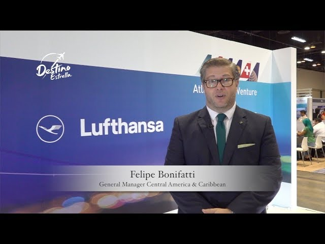 Expo Turismo internacional 2108 Lufthansa Group