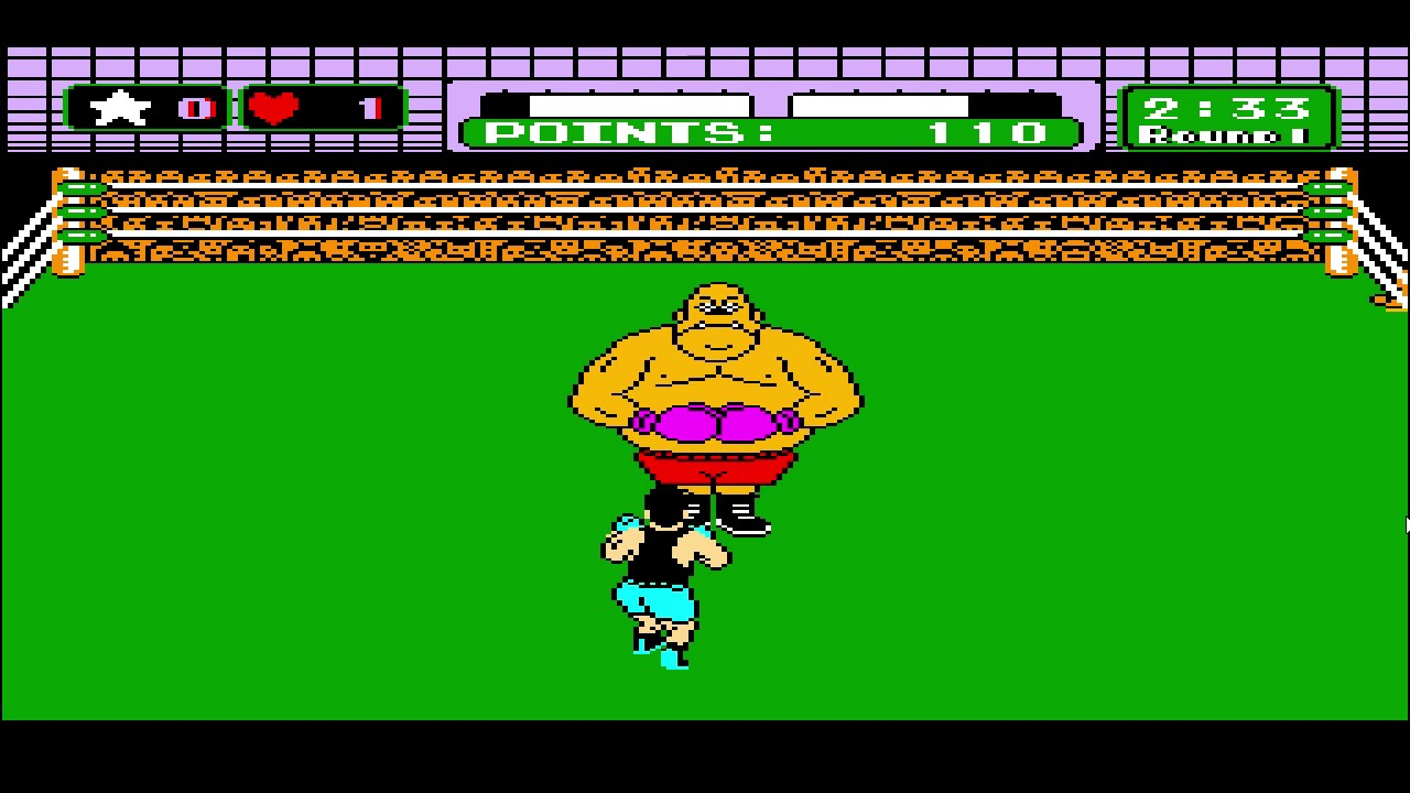 Little Mac VS King Hippo || Mike Tyson's Punch Out!! - YouTube