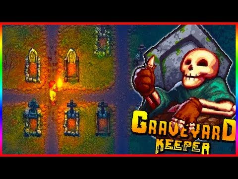 BURNING WITCH | Graveyard Keeper Lets Play #1
