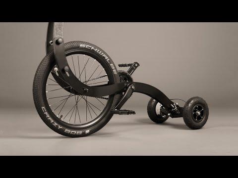 halfbike- иновативен велосипед създаден в България