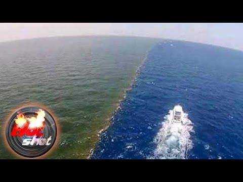 Fenomena Selat Gibraltar, Pertemuan Dua Jenis Air Laut yang Berbeda - Hot Shot 12 Juni 2016