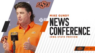 10/21/2019 Mike Gundy Monday Press Conference