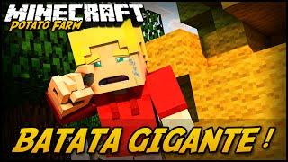 BATATA GIGANTE ;-; POTATO FARM #5