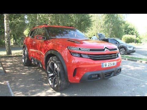 AirCross Concept : le Concept Car très high-tech de Citroën