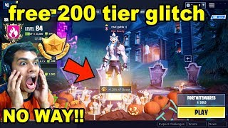 GET 35 FREE TIERS IN FORTNITEMARES PART 3 CHALLENGES
