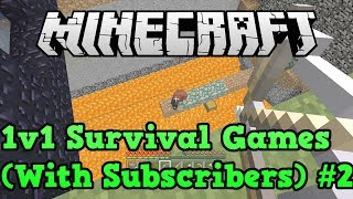 Minecraft Xbox 360 PS3 1v1 Survival Games PVP #2