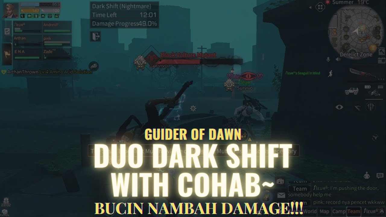 [Guider of Dawn] Lifeafter Duo Dark Shift with Cohab!