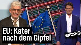 EU: Euro-Milliarden gegen Corona