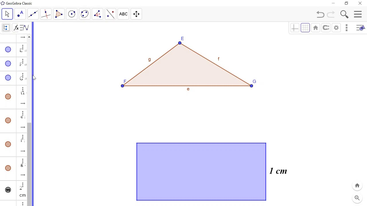 Drawing Polgons Regular Polygons Rigid Polgons Vector Polygons and Circles in Geogebra An Introducti