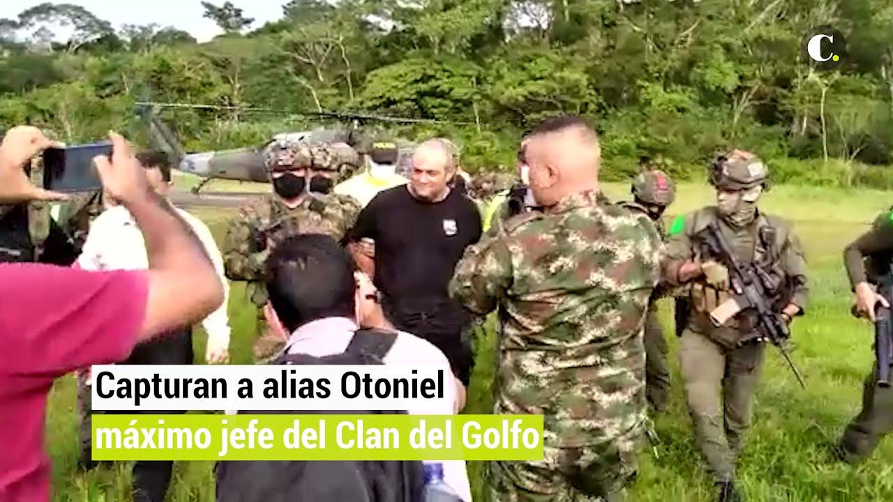 Download Capturan a alias Otoniel, máximo jefe del Clan del Golfo   El Colombiano