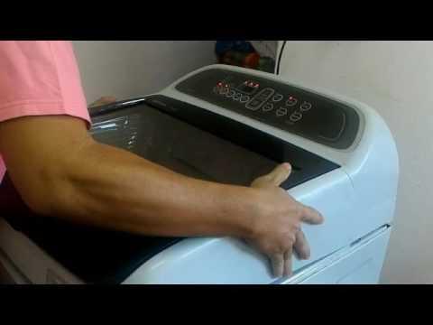 เครื่องซักผ้า Samsung ขึ้น dC แก้แบบบ้านๆ